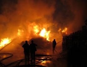 Gebzede fabrika yangını!
