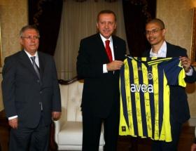 Erdoğan Alexi kutladı