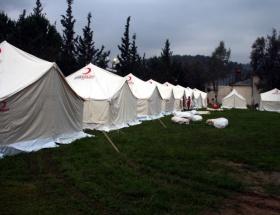 Ercişe 6 bin çadır dağıtılacak