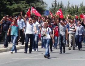 Mersin Üniversitesinde gergin kutlama