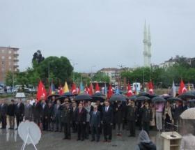 Bafrada buruk 19 Mayıs töreni