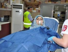 Temizlik malzemesi hastanelik etti