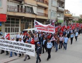 Madenciler Soma için yürüdü