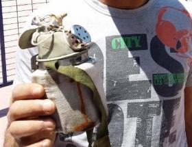 İşte madencilere verilen küflü gaz maskesi