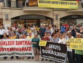 NKPden nükleer karşıtı yürüyüş