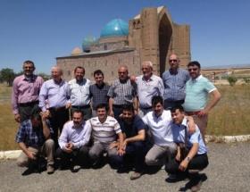KAHİAD üyeleri, Orta Asya ziyaretinden memnun döndü
