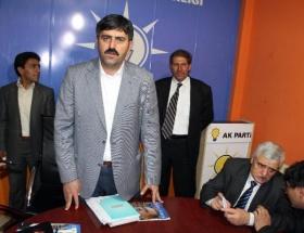 Ardahanda AK Parti yönetimi istifa etti