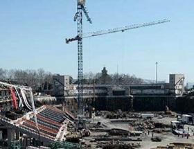 Timsah Arenanın çatısı kapanıyor