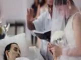 Ölümüne 10 saat kala evlendi!