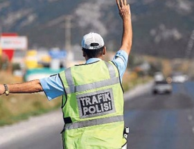 Polis 5 çayı için durduracak