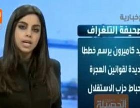 Suudi Arabistanda başörtüsüz spiker krizi