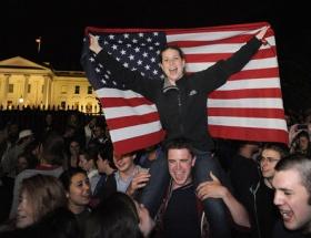 ABD, Ladinin öldürülmesini kutluyor