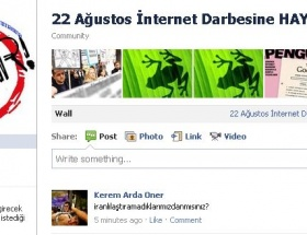 22 Ağustos İnternet Darbesine HAYIR!