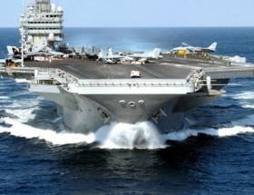 Nükleer uçak gemisi Kızıl Denizde