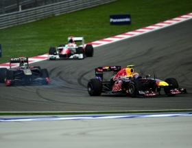 Pole pozisyonu Vettelin