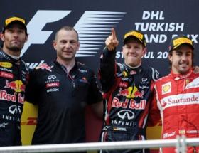 İstanbulun şampiyonu Vettel!