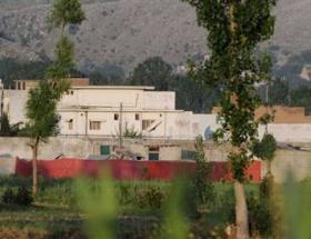 Bin Ladinin saklandığı ev yıkılıyor