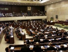 Soykırım İsrail meclisinde