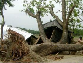Mozambikte şiddetli fırtına