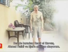 Gazzeli çocuklar için de bir kova kum