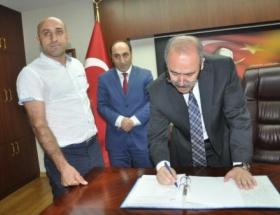 Muşta 12 yatırımcının TKDK projesi imzalandı