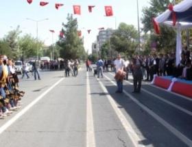 Diyarbakırda 30 Ağustos Zafer Bayramı törenle kutlandı