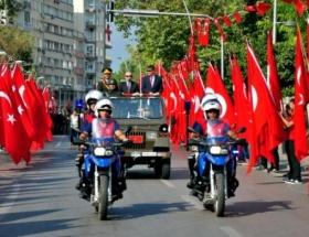 30 Ağustos Zafer Bayramı Antalyada coşkuyla kutlandı