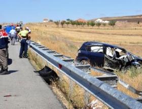 Gurbetçi ailenin otomobili takla attı: 4 ölü