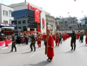 Bursada 30 Ağustos Zafer Bayramı coşkusu