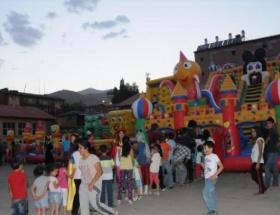 Beşiktaştan Hakkarili çocuklara park hediyesi
