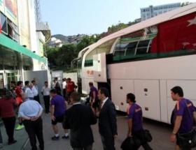Bursaspor ve Galatasaray stada geldi