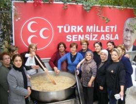 MHPli kadınlar Kerbela şehitlerini andı