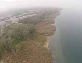 Kuraklığın vurduğu Sapanca Gölünün son hali