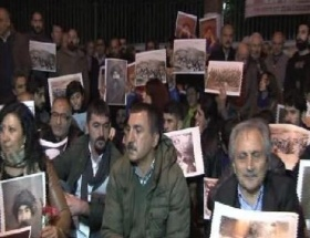 Dersim olayları protesto edildi