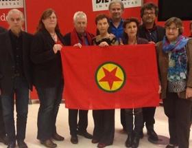 O vekile PKK flamasıyla destek