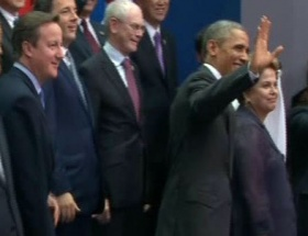 Davutoğlu, Obama ile görüştü