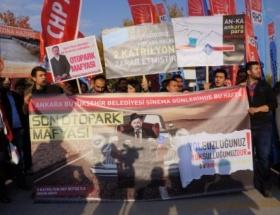 CHPden yumurtalı protesto