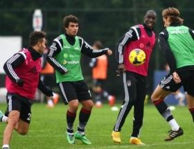 Beşiktaşta hazırlıklar sürüyor