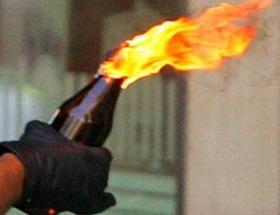Molotof atanlara pompalı tüfekle ateş açtı