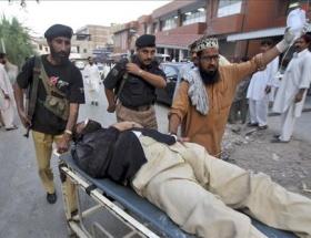Pakistanda intihar saldırısı: 40 ölü