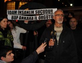 BDPden İran Büyükelçiliğine siyah çelenk