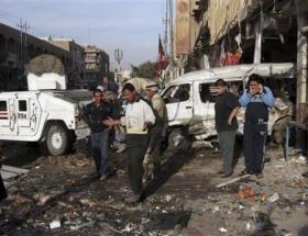 Kerkükte patlama: 8 ölü,17 yaralı