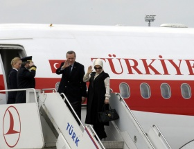 Başabakan Erdoğan, Kırgızistana gitti