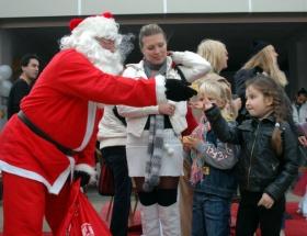 Tacizciyi Noel Baba yakalayacak
