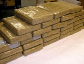 2 ton uyuşturucu ele geçirildi
