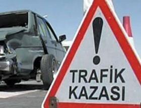 Otomobil Porsuka uçtu: 1 ölü