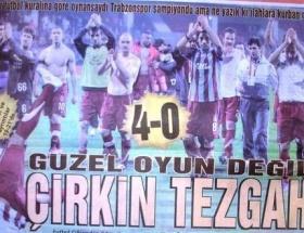 Trabzon medyası tepkili!