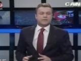Flash TV haber spikerinin dili sürçtü!