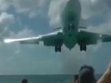 Boeing 727 pilotundan akıl almaz iniş