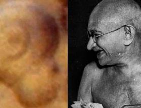 Gandhinin yüzü Marsta